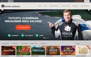 Ninja casino arvostelu ja kokemukset